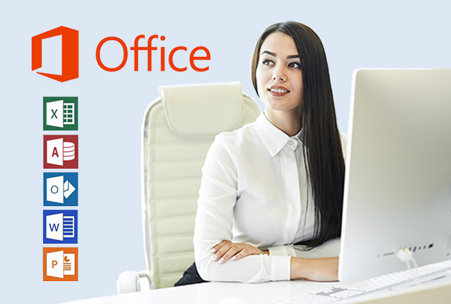 Ms office software using your pc